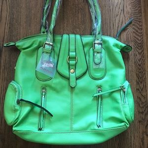 Vibrant Green Beautiful Purse